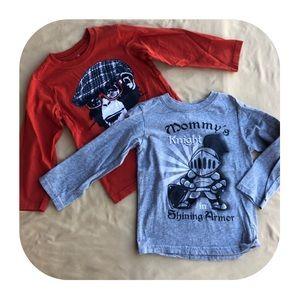 2 Children's Place long sleeve T-shirt 4T